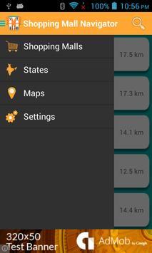 Shopping Mall Navigator screenshot 1