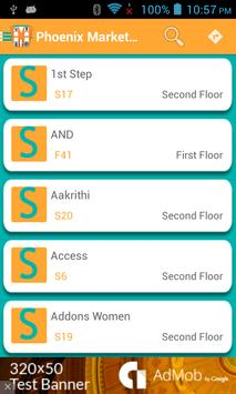 Shopping Mall Navigator screenshot 2