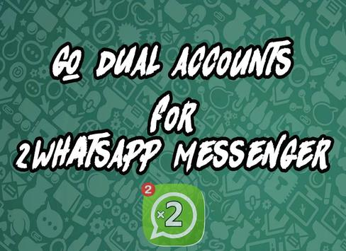 Dual for WhatsApp poster