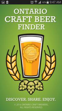 Ontario Craft Beer Finder poster