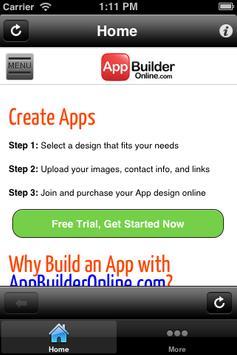 App Builder Free poster