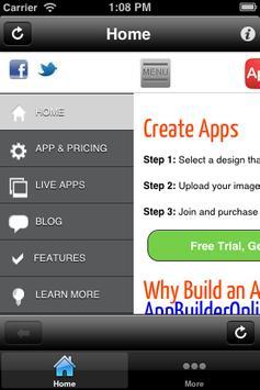 App Builder Free screenshot 1