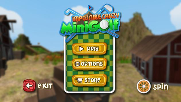 Impossible Crazy Mini Golf poster
