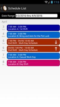 OnTheClock - Employee Time Clock apk screenshot