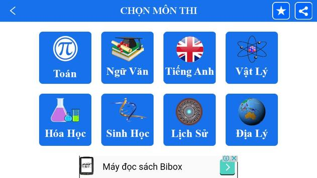 On thi Dai hoc, PTTH apk screenshot