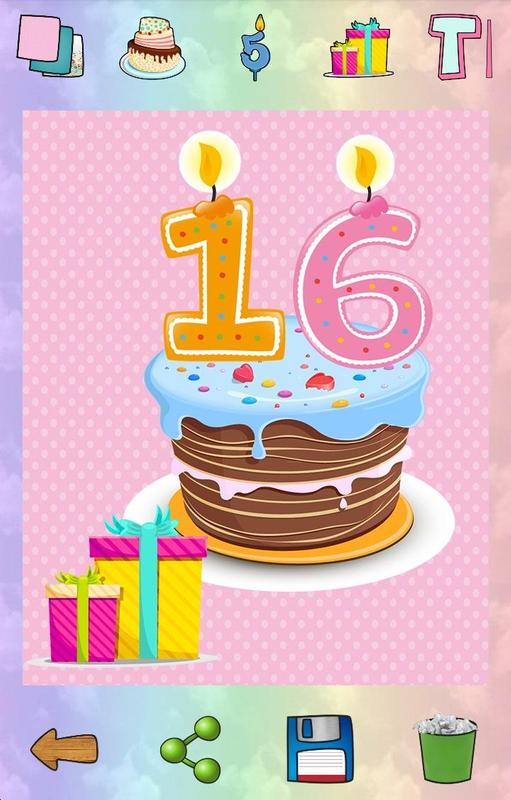 Create Your Own Birthday Card Poster