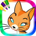 Coloring cats and kittens