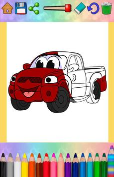 Cars coloring pages for kids screenshot 14
