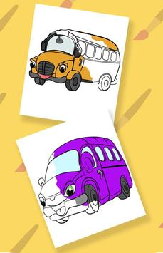 Cars coloring pages for kids screenshot 2