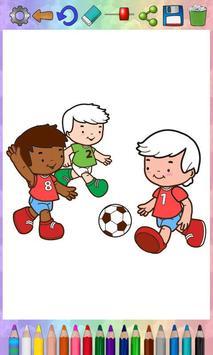 Paint magic football poster