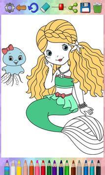 Paint Magic mermaids apk screenshot
