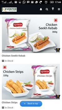 Keventer Frozen Foods apk screenshot