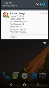 Swallow: VK Notifications apk screenshot