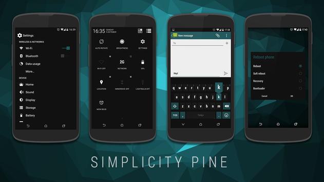 Simplicity Pine CM11 Theme screenshot 8