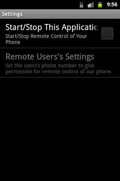 Sms Remote poster