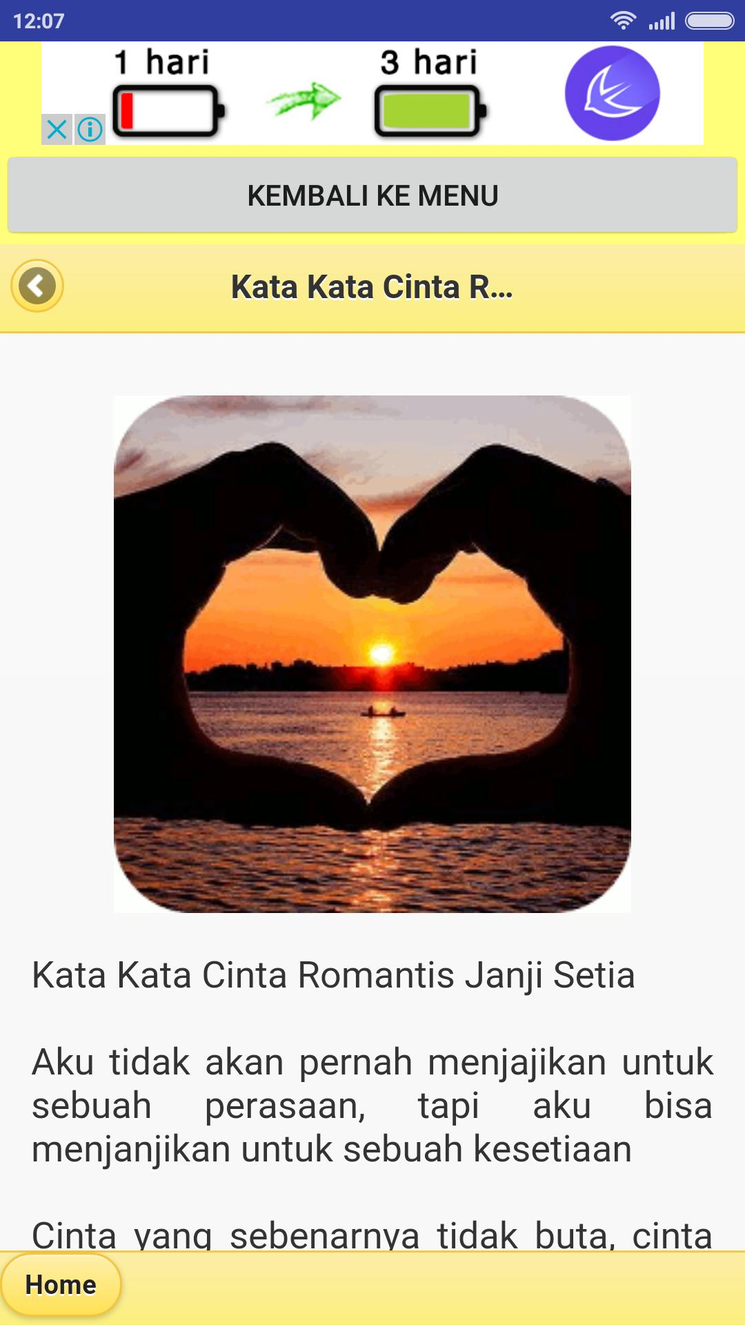 Kumpulan Kata Cinta Romantis Für Android Apk Herunterladen