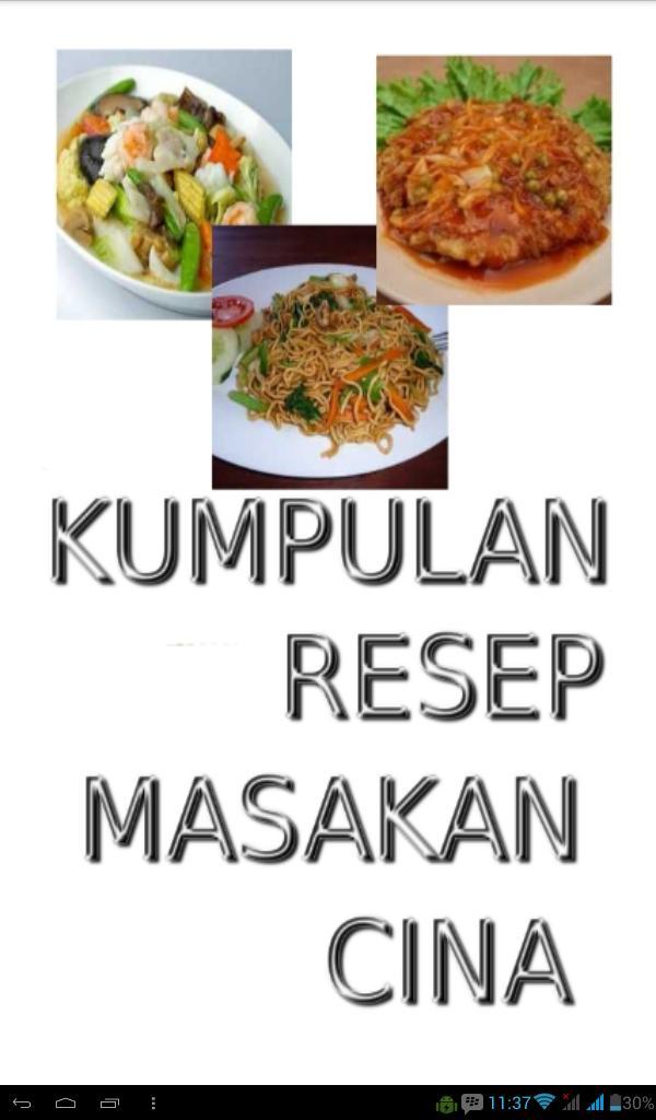 Kumpulan Resep Masakan Cina For Android Apk Download