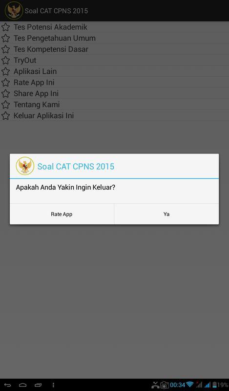 Soal Cat Cpns 2016 Apk Baixar Gr 225 Tis Educa 231 227 O Aplicativo Para Android Apkpure Com