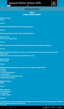 Undang-Undang Wakaf apk screenshot