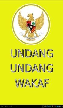 Undang-Undang Wakaf poster