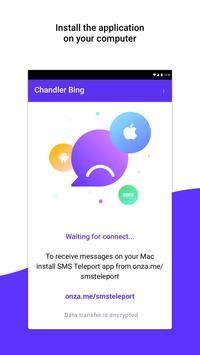 SMS Teleport apk screenshot