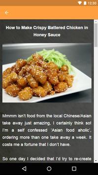 Asian Recipes screenshot 7