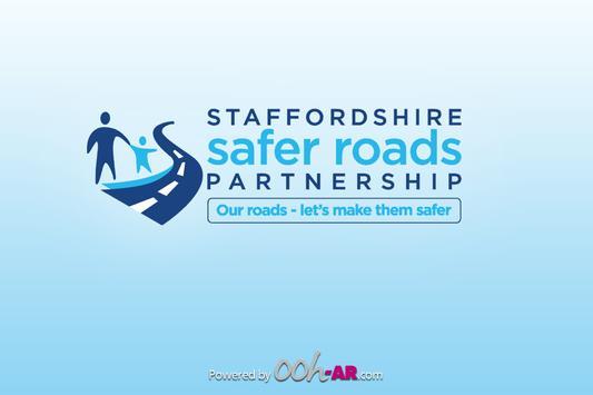 Staffs Safer Roads AR poster