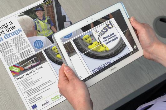 Staffs Safer Roads AR screenshot 12