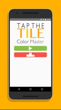 Tap The Tile - Different Color poster