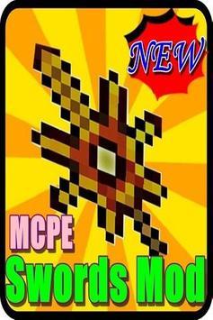 New Swords Mod MCPE poster