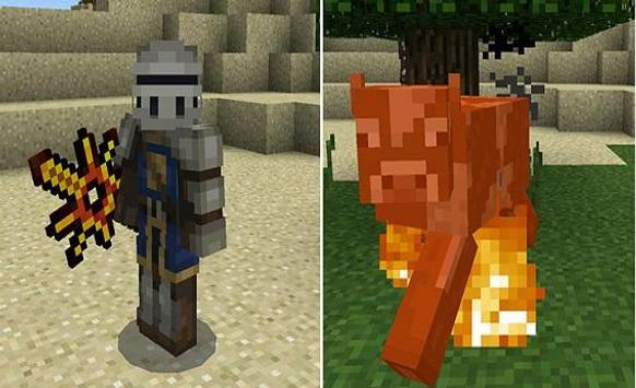 New Swords Mod MCPE apk screenshot