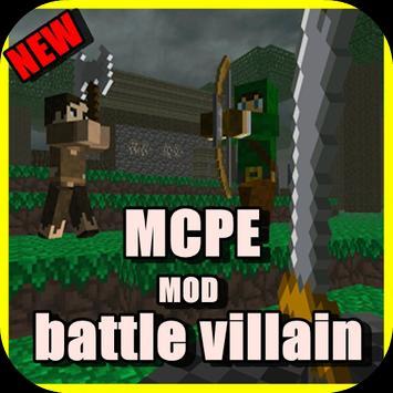 Battle Villain MCPE MOD poster