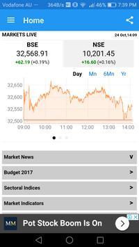 Live Stock Market -BSE NSE Market Viewer screenshot 2