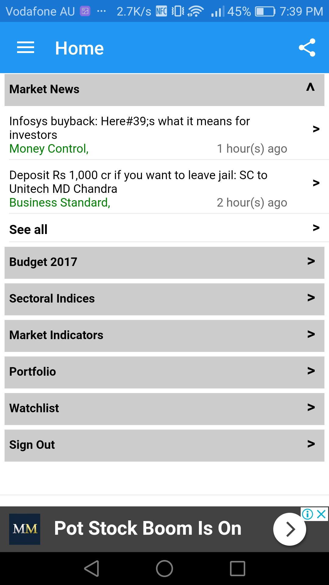Live Stock Market -BSE NSE Market Viewer for Android - APK Download