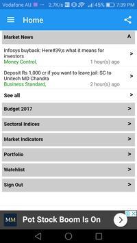 Live Stock Market -BSE NSE Market Viewer screenshot 7