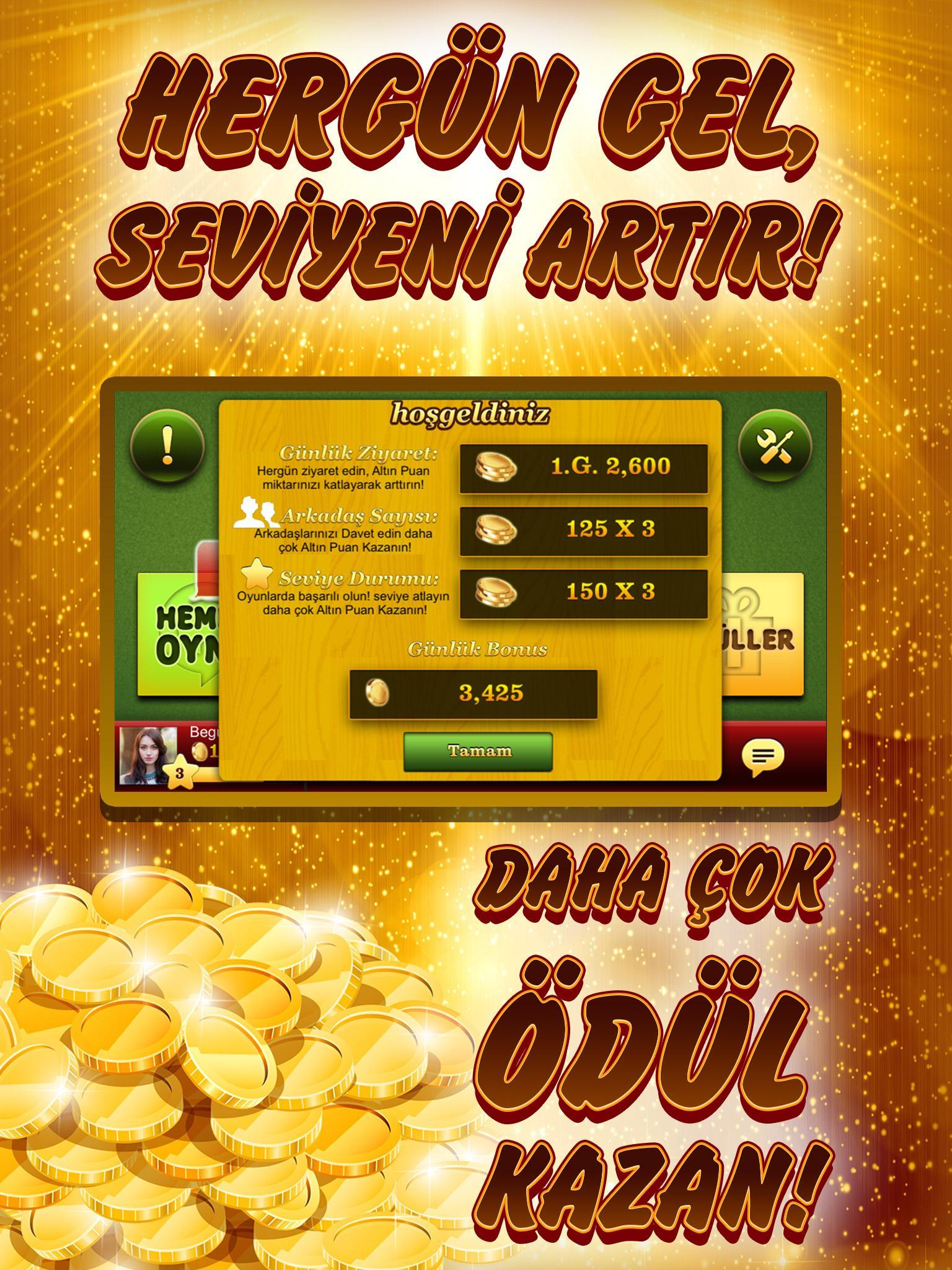 Okey Online Spielen