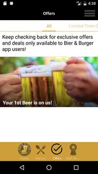 Bier and Burger screenshot 2