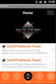 Out of the Box Technology poster