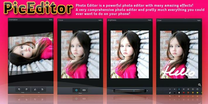 Photo PicEditor - Photo Editor apk screenshot