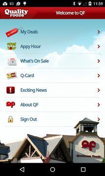 Quality Foods apk screenshot
