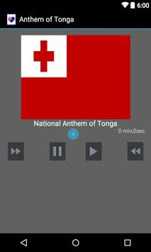 Anthem of Tonga poster