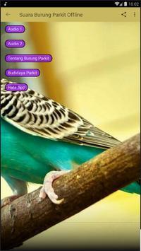 Suara Burung Parkit Offline screenshot 1