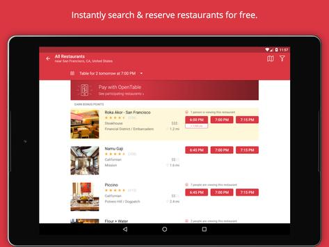 OpenTable Book Restaurants APK Download Free Food Drink APP - Table reserve app