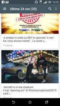 Italy Celebrity News apk screenshot