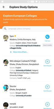 Opentalk screenshot 4