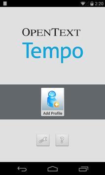 OpenText Tempo poster