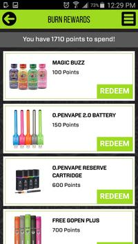 O.penVAPE Rewards apk screenshot
