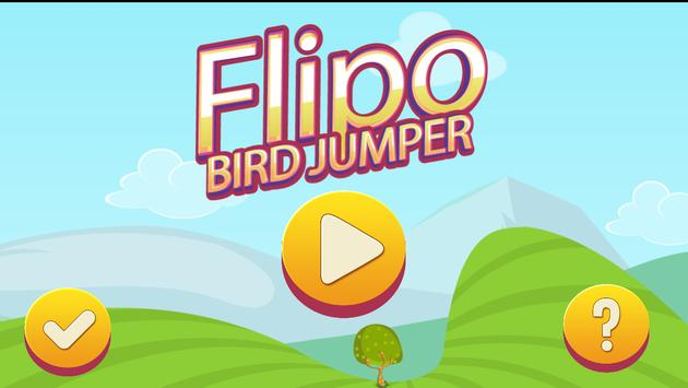 Flipo Bird Jumper poster