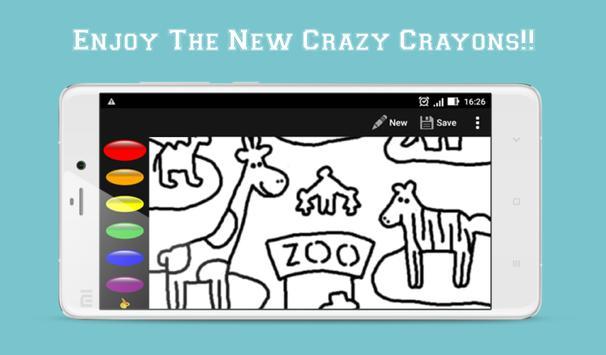 Crayon King - Coloring App poster