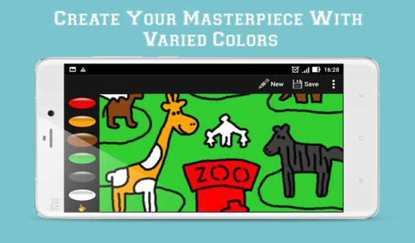 Crayon King - Coloring App apk screenshot